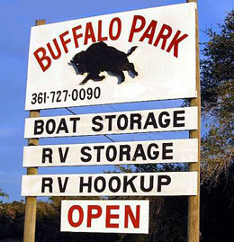 Buffalo RV Park & Storage in Rockport, TX