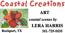 Coastal Creations Art by Lera Harris in Rockport, TX